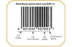 Особенности штрихового кодирования. Назначение ШК, виды, структура ШК ЕАN-13. Определение контрольного числа
