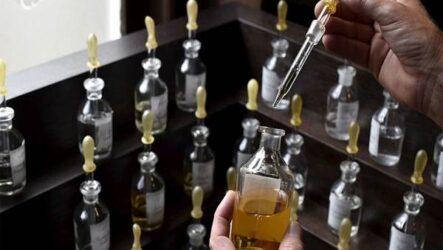 Процесс производства парфюмерных товаров