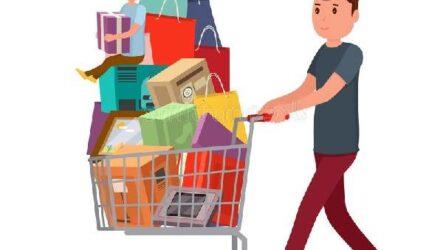 Модель исходной ситуации потребления