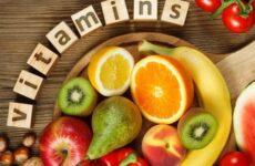 Витамины в продовольственных товарах