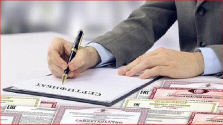 Сертификация импортируемой продукции в России