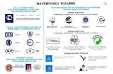 Классификация маркировки