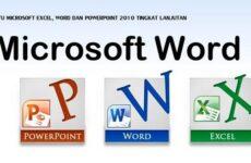Типовая технология подготовки табличного документа на основе табличного процессора