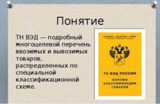 Объект классификации ТН ВЭД и Гармонизированной системы описания и кодирования товаров