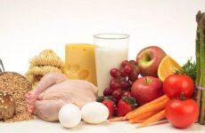 Пищевая ценность продовольственных товаров